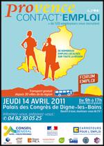 6ème édition de ce forum de recrutement en Provence-Alpes-Côte d'Azur. Palais des Congrès de Digne-les-Bains