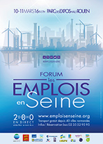 Actualites forum salon de recrutement emploi formation for Salon emploi rouen